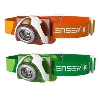 LED LENSER SEO 3 (green, orange)