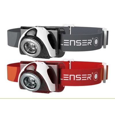 LED LENSER SEO 5 (grey, red)
