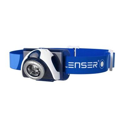LED LENSER SEO 7R (black, blue)